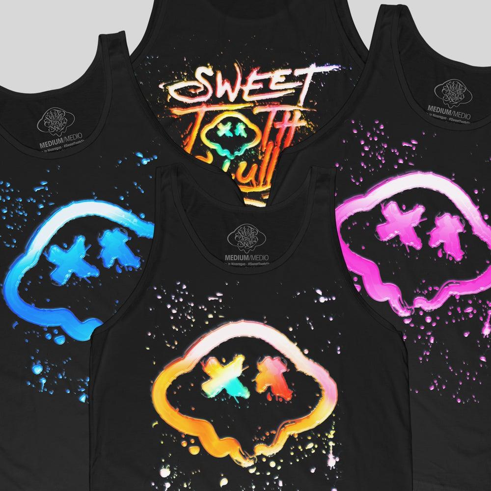 Image of Sweet Tooth Skully: Summer Splatt Tanx