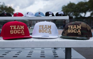 Image of Team Soca Hat Version 1 (Gold Edition)