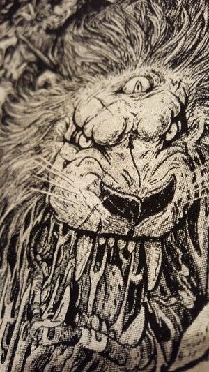 "Image of Tank Top | ""Hunt Or Be Hunted ૐ 3rd Eye Lion"" Artwork"
