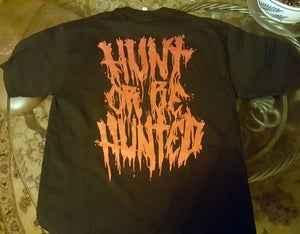 "Image of T-Shirt | ""Hunt Or Be Hunted ૐ 3rd Eye Lion"" Artwork"