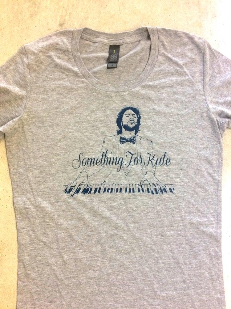 Image of Something for Kate - Piano tee - Marle Grey ladies