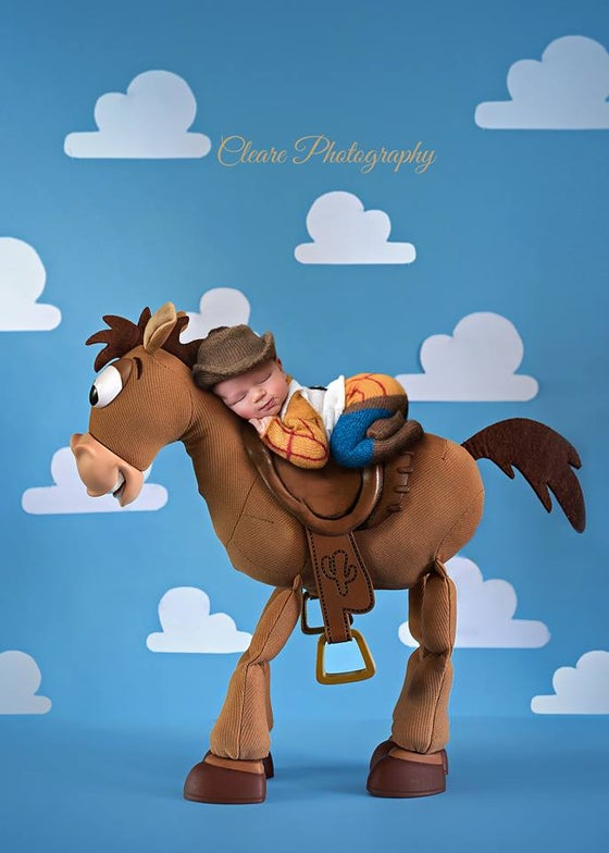 Image of *NEW* Little Woody Jammy & Cowboy Hat Set