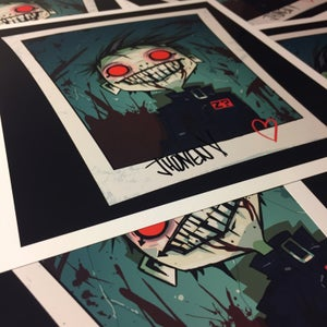 Image of Johnny Eff headshot - signed - PREORDER