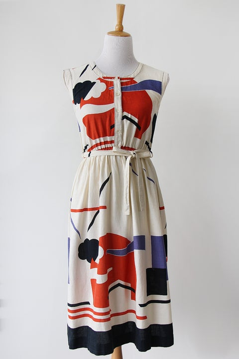 Image of SOLD Cloudy Sunset Dress