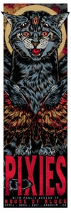 Image of PIXIES US TOUR - ANAHEIM - GIGPOSTER - NIGHT CAT