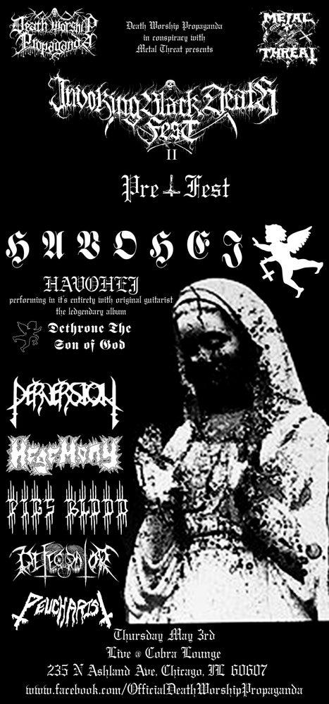 Image of Invoking Black Death Fest II PRE FEST
