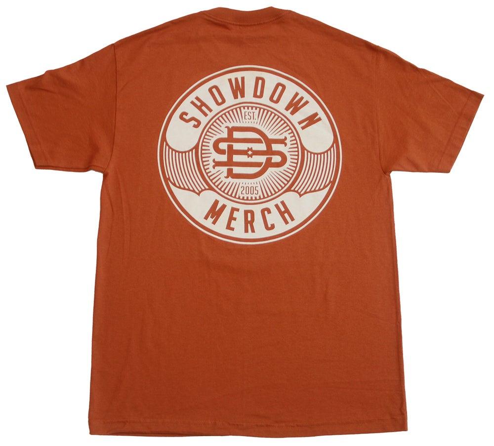 Image of Burnt Orange Work Shirt
