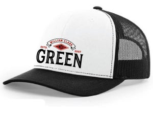 Image of WCG White / Black Hat
