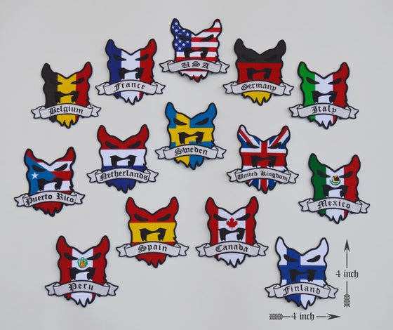 "Image of "" BV NATIONS "" Collectible Patch"