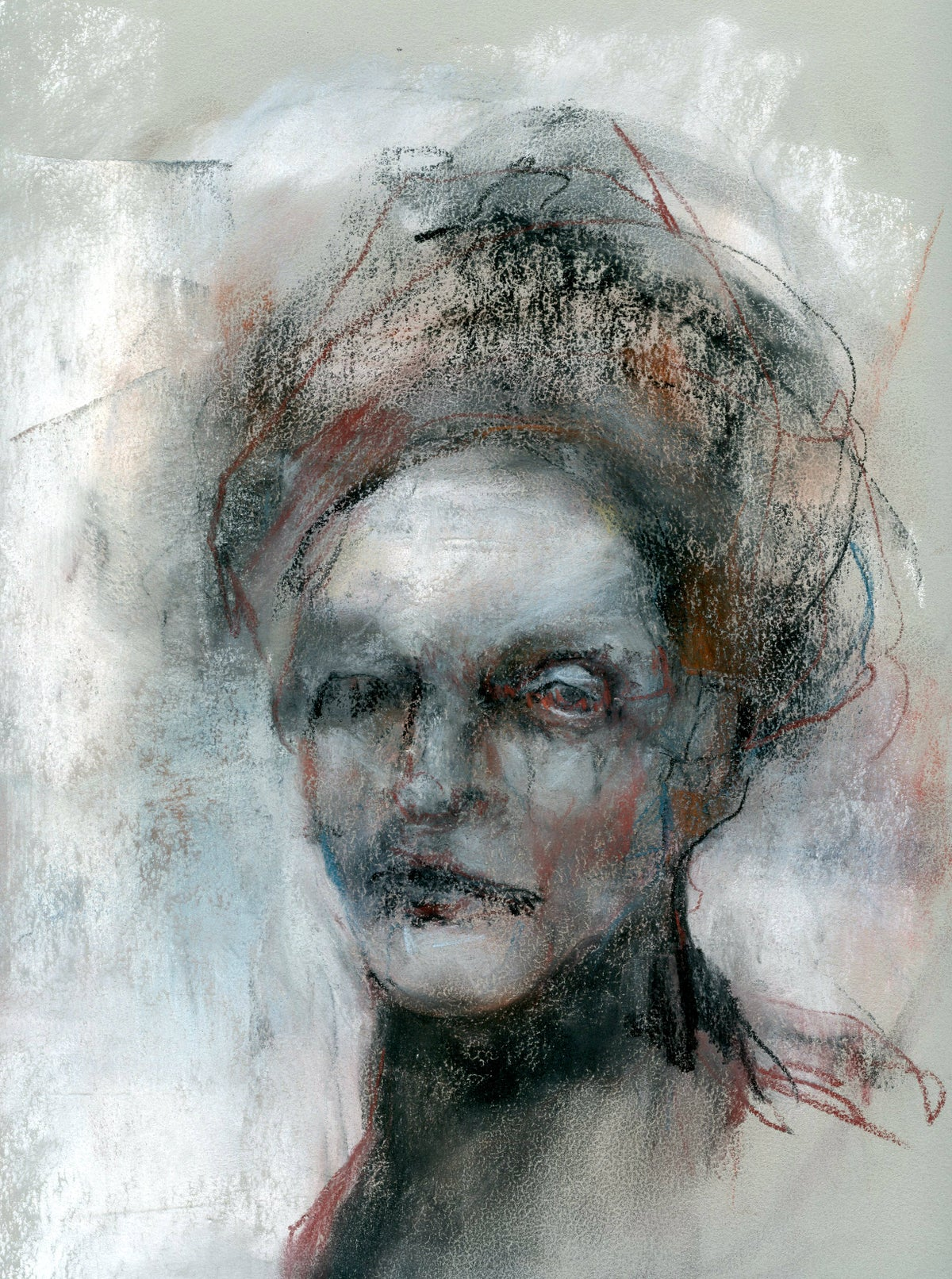 Image of Morag - Original pastel on paper