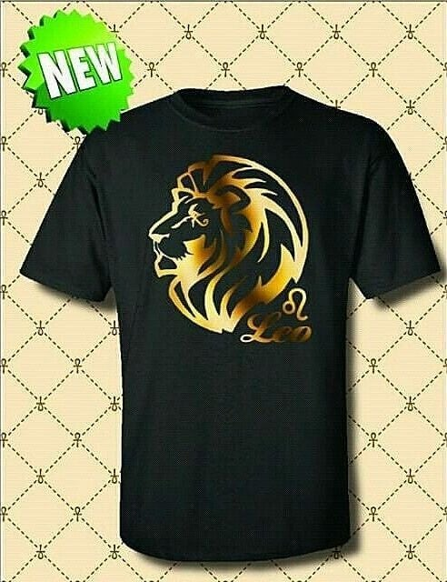 Image of MEN'S LEO ZODIAC TSHIRT
