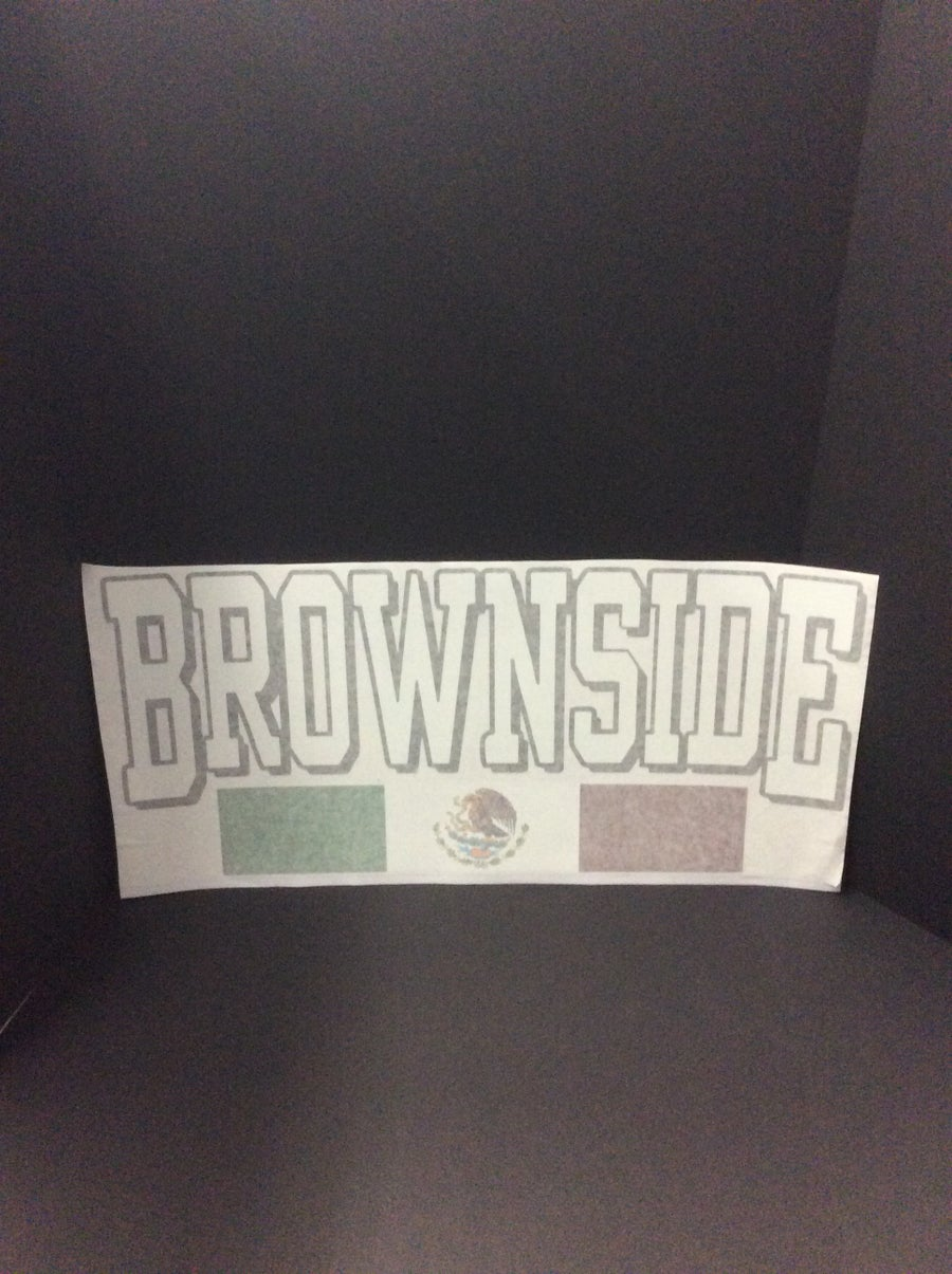 Image of Brownside XL Decal Sticker