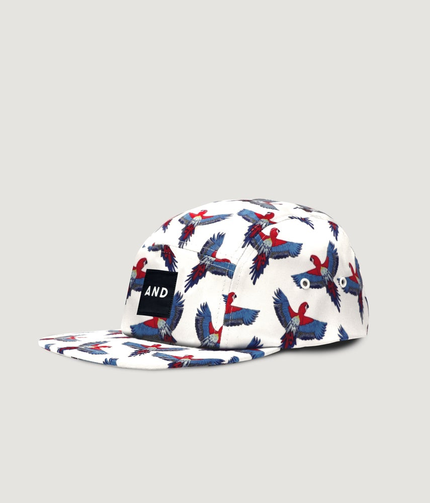 Image of Parrot AND 5 Panel Cap