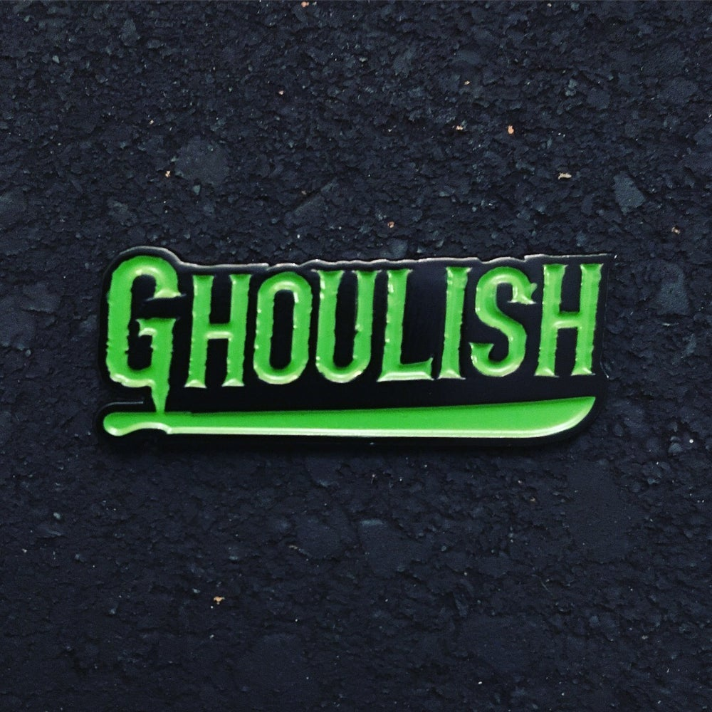 Image of Ghoulish logo pin