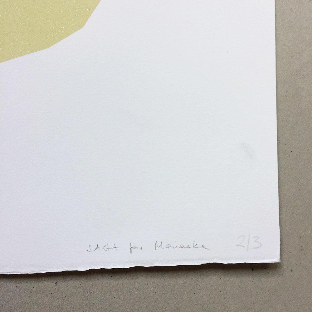 Image of affiche Tropics illustration sérigraphie