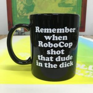 Image of RoboCop coffee mug