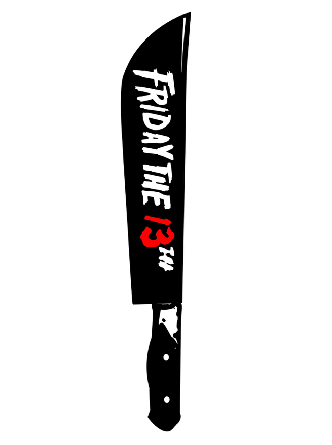 Image of F13th by Camden Noir (Patch & Sticker)
