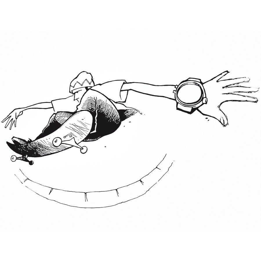 Image of ORIGINAL: CHIRP Andy Jenkins Drawing #8