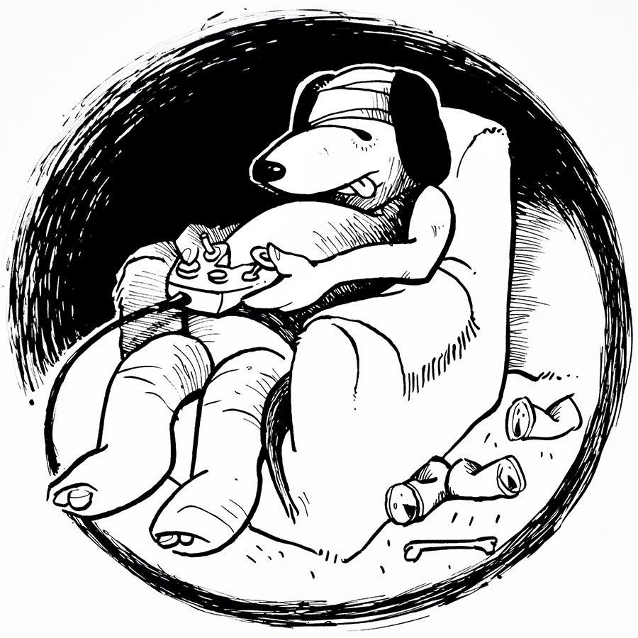 Image of ORIGINAL: Andy Jenkins Drawing #12