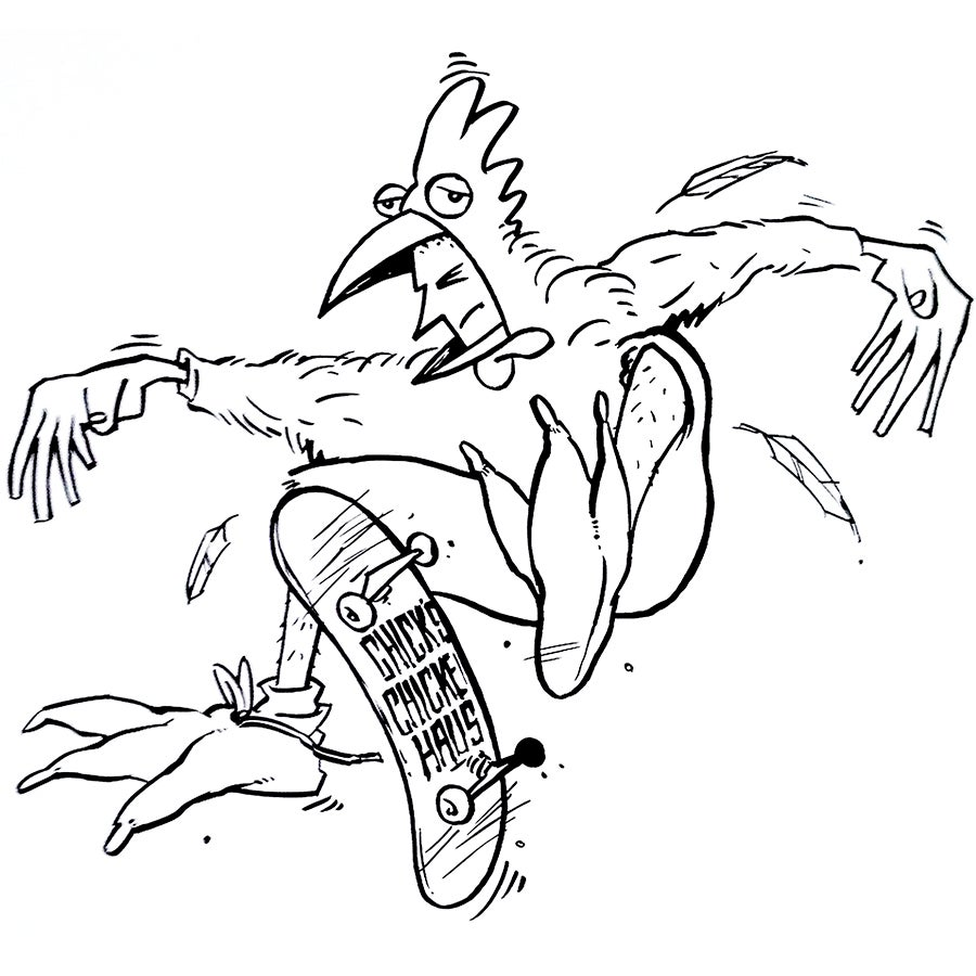 Image of ORIGINAL: CHIRP, CHICKEN HAUS