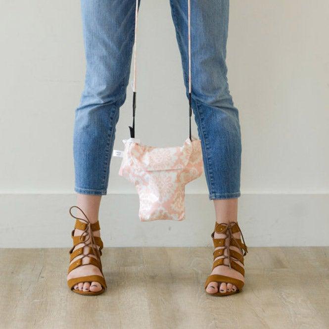 Image of DSLR Camera Bag Travel Camera Coat | Pink Damask Great Gift Idea 2016