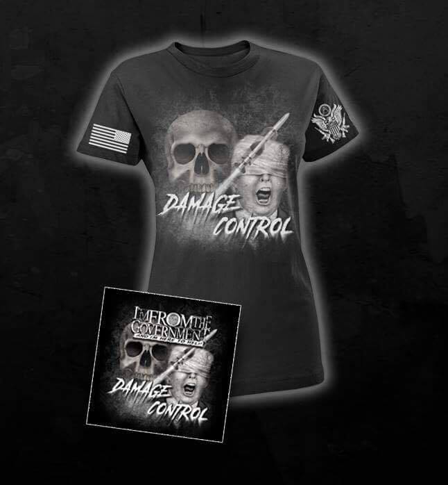 Image of Damage Control Womans Tee + CD