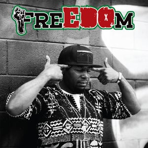 """Image of EDO.G """"FreEDOm"""" Limited Edition Vinyl LP (red or green colored)"""