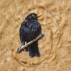 Image of Blackbird necklace