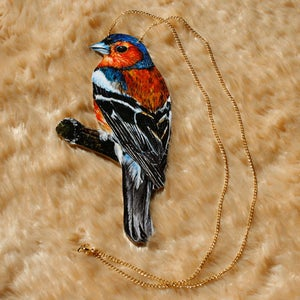 Image of Chaffinch necklace