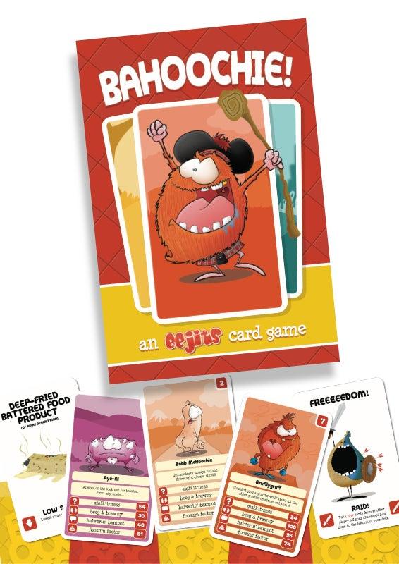 Image of BAHOOCHIE! - an eejits card game
