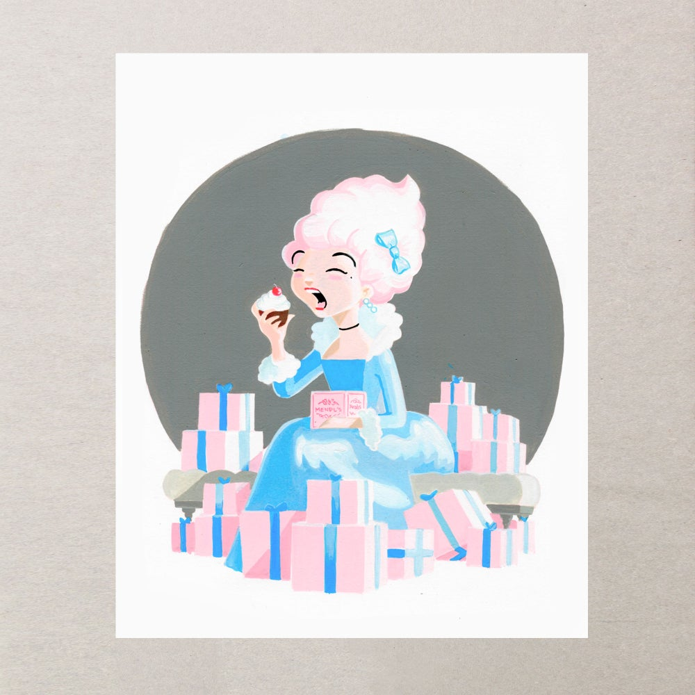 Image of MARIE PRINT 8 X 10