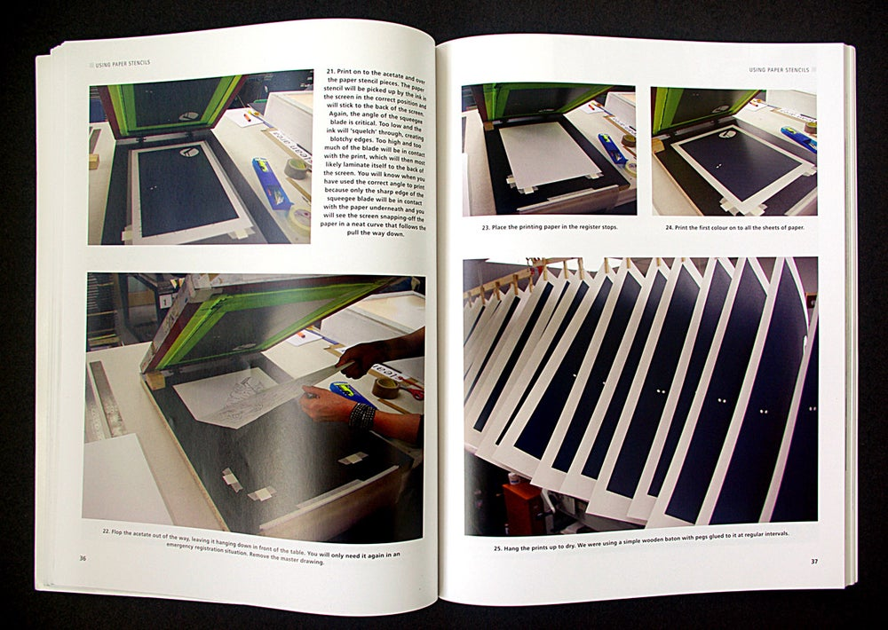 "Image of NEW BOOK!! ""Screenprinting"" by Jane Sampson"