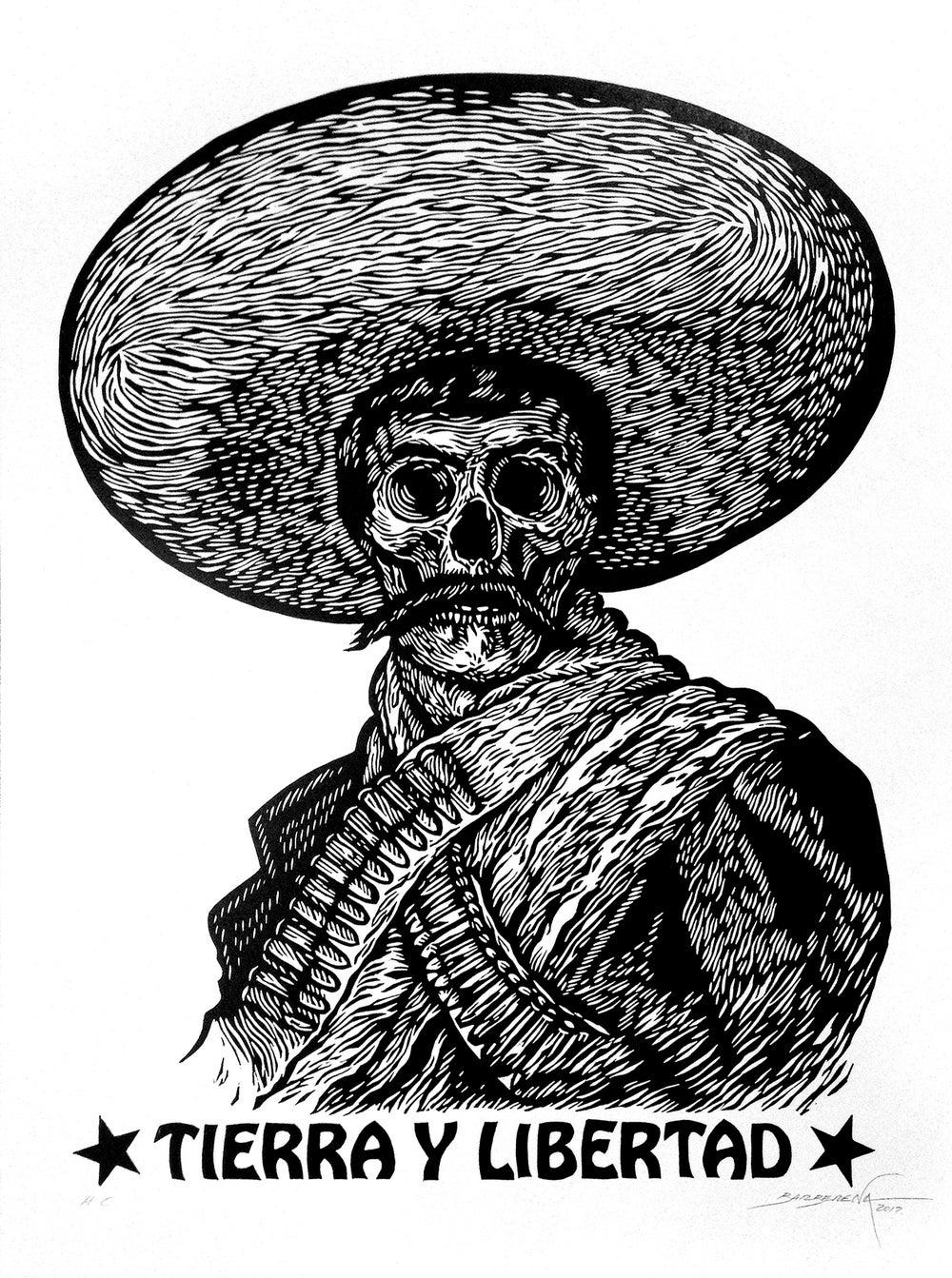 """Image of """"Tierra y Libertad"""" by Carlos Barberena"""