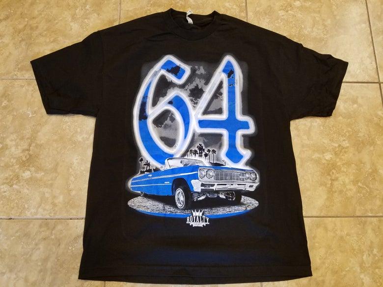 Image of 1964 impala blue
