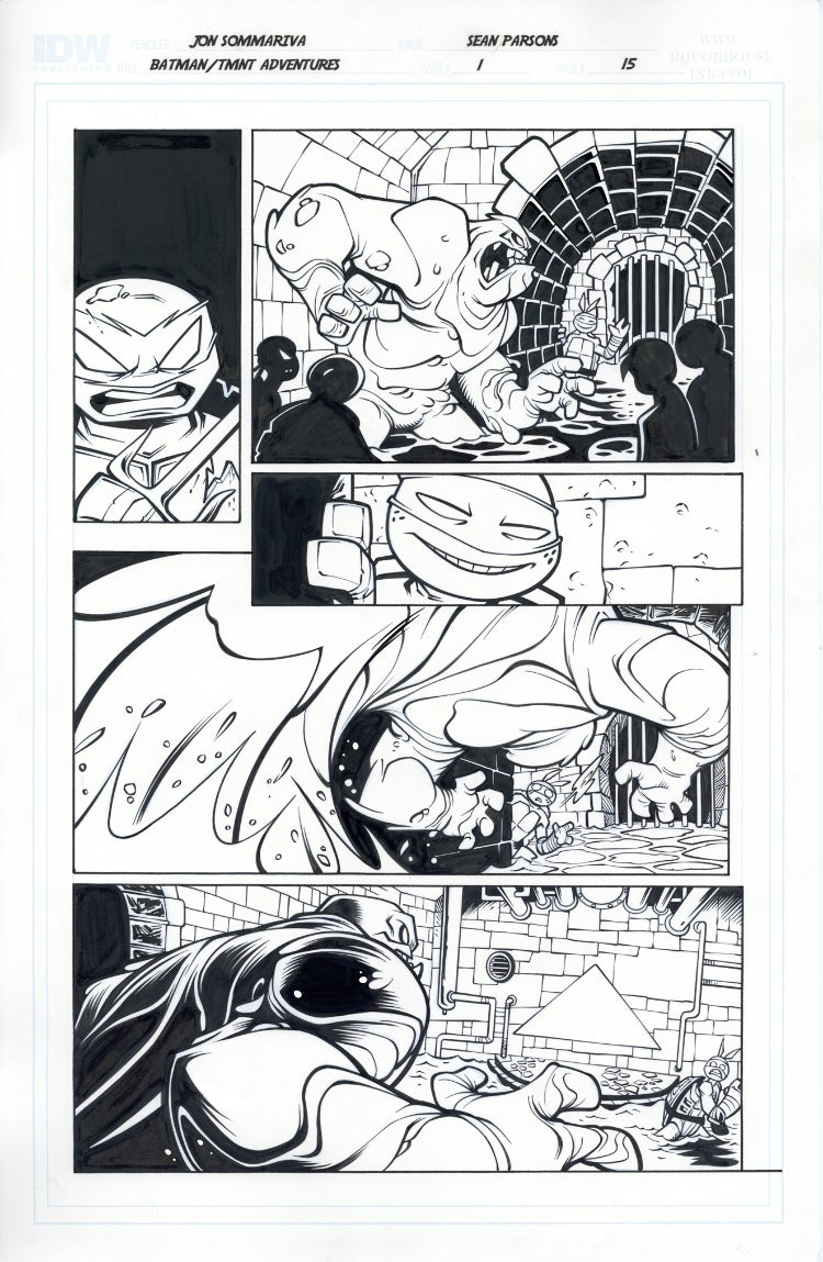 Image of Batman TMNT Adventures 1 Page 15
