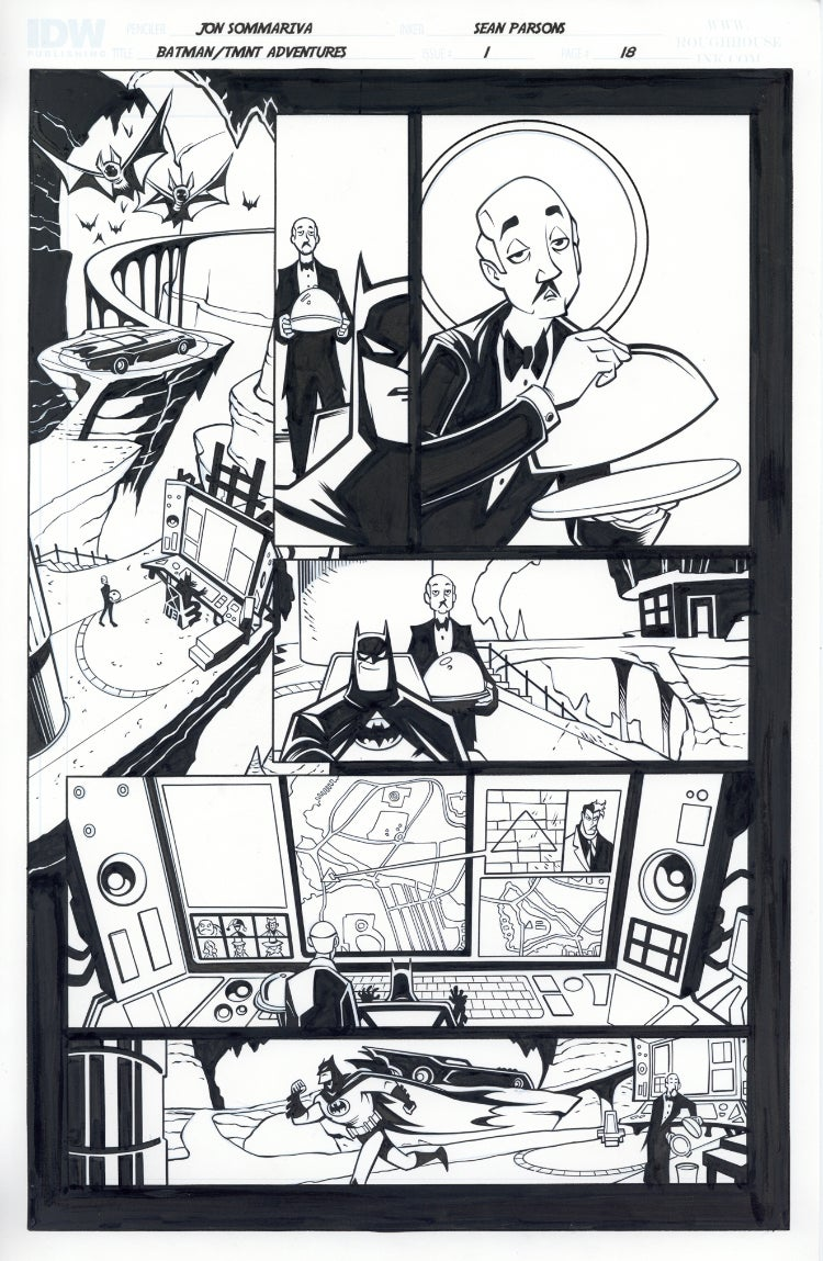 Image of Batman TMNT Adventures 1 Page 18