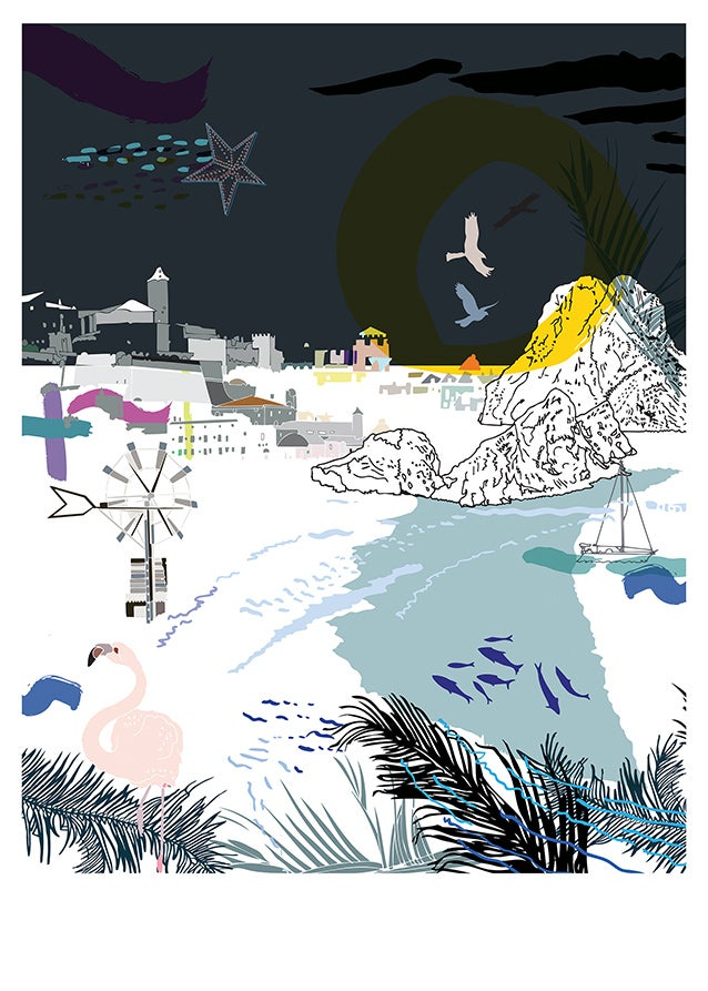 Image of IBIZA giclee print