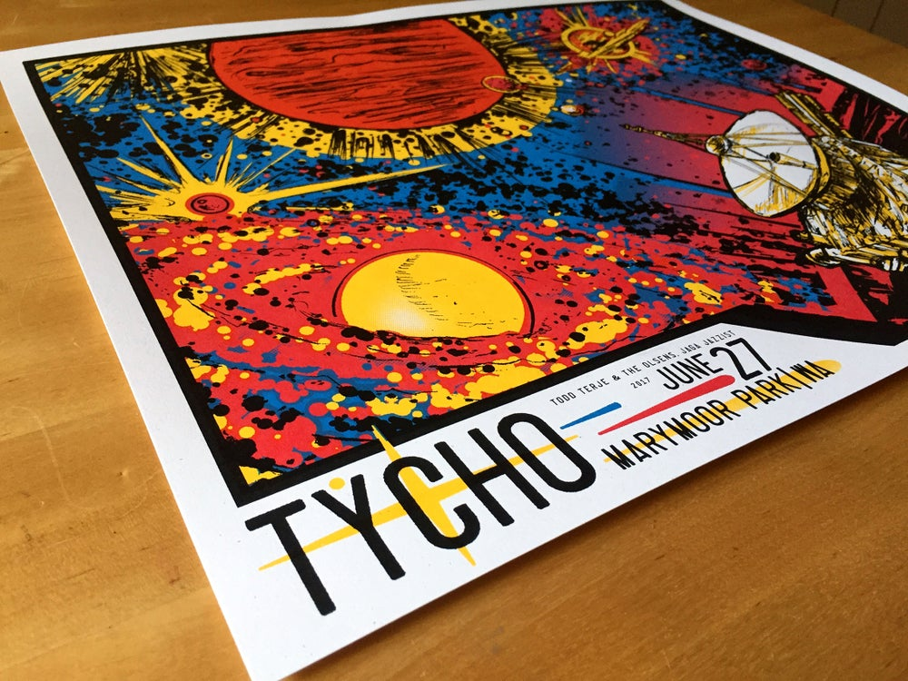 Image of Tycho at Marymoor Park