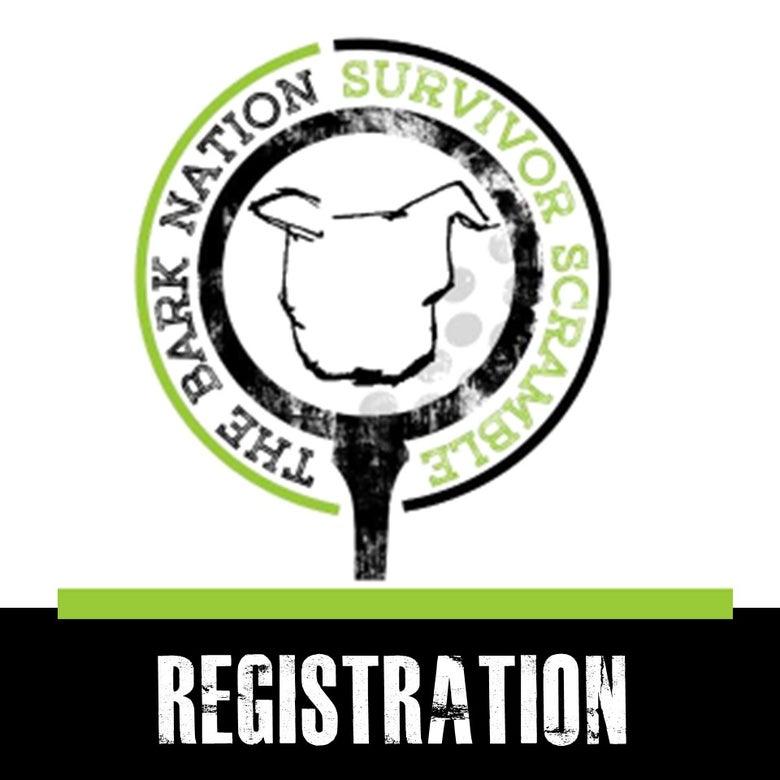 Image of 2017 GOLF FUNDRAISER! The Bark Nation Survivor Scramble - Registration!