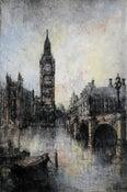Image of Big Ben and Westminster Bridge, London