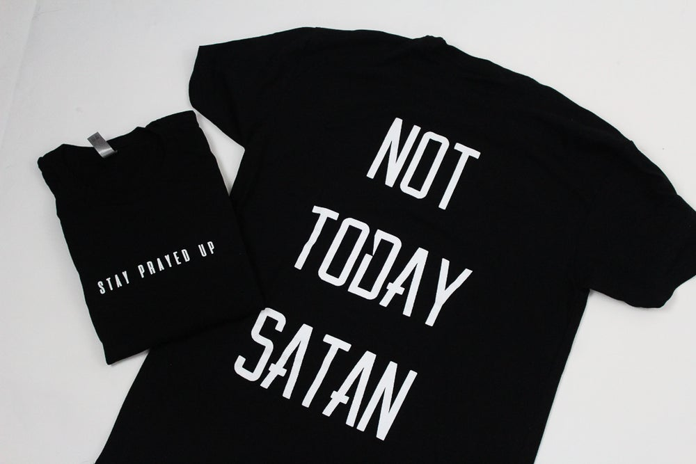 Image of Not Today Satan Tee