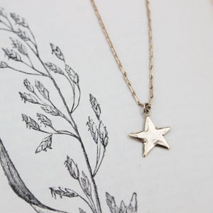Image of *NEW* gold star necklace