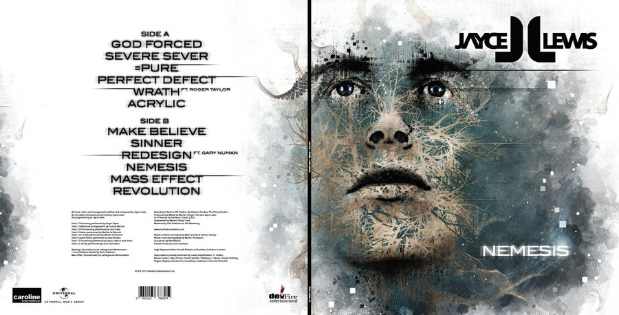 "Image of Jayce Lewis - Nemesis 12"" Vinyl 180gms"