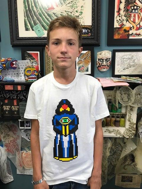 Image of 8 bit druid tshirt