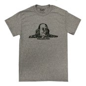 Image of Unisex Classic Logo Triblend T-Shirt in Heather Grey