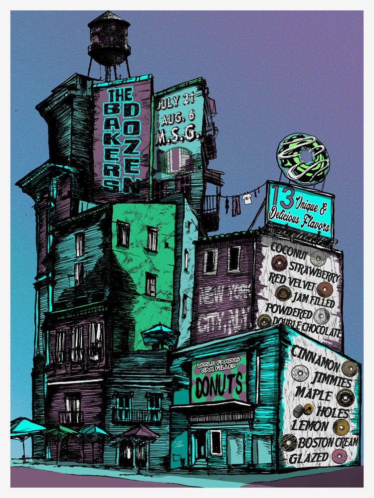 Image of PHISH Baker Dozen- New York City VARIANT 7/21-8/6