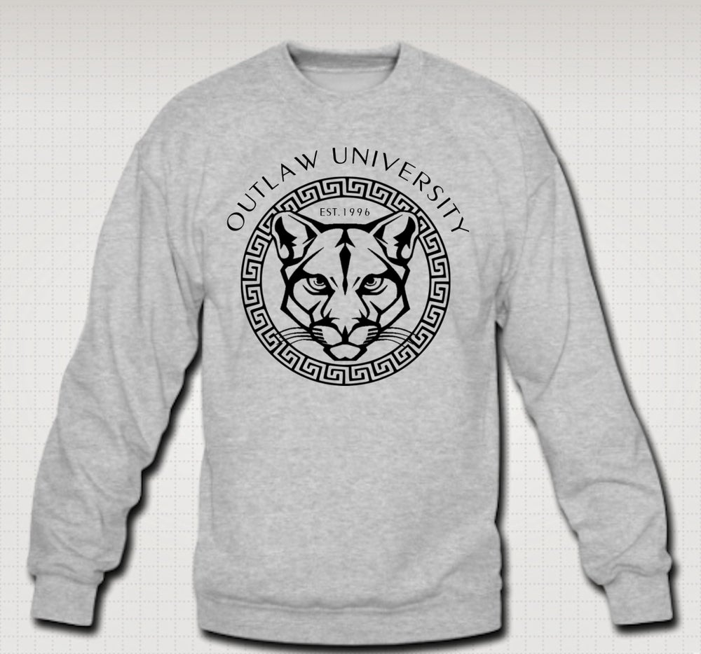 Image of OU Panther Crewneck - Comes in Black, Grey, Red, Navy Blue. CLICK HERE TO SEE ALL COLORS