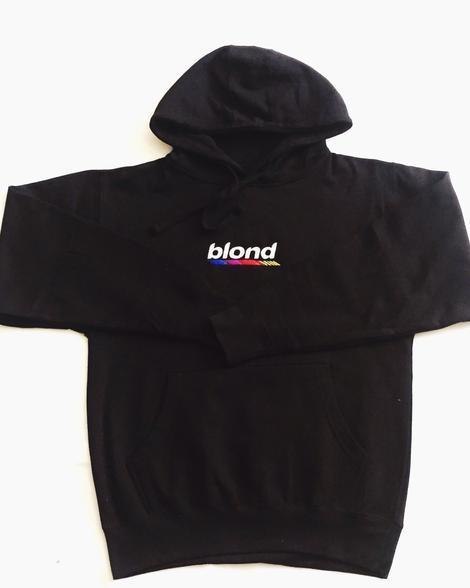 Image of Black Frankie Blond Hoodie