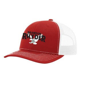 Image of Red Logo Hat