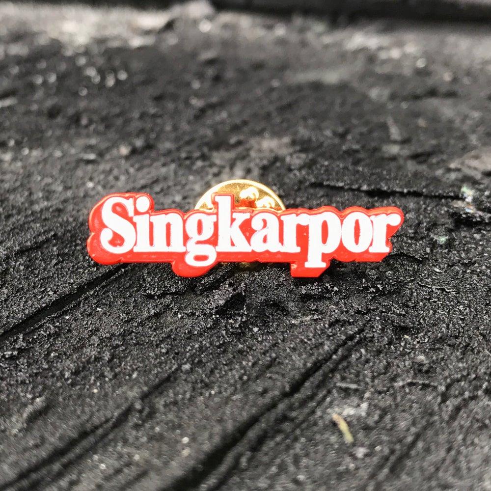 Image of Singkarpor enamel pin